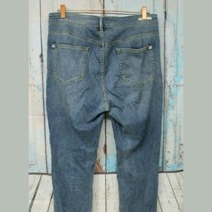 Pilcro and the Letterpress Jeans - Women's 31 Tall High Rise Skinny Cuffed Jeans